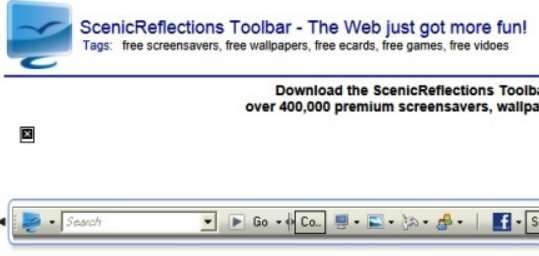 Scenic Reflections Toolbar
