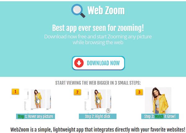 WebZoom adware