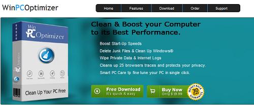 Win PC Optimizer virus