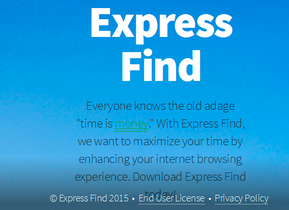 Express Find adware