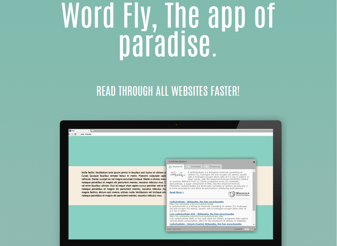 Ads by Word Fly