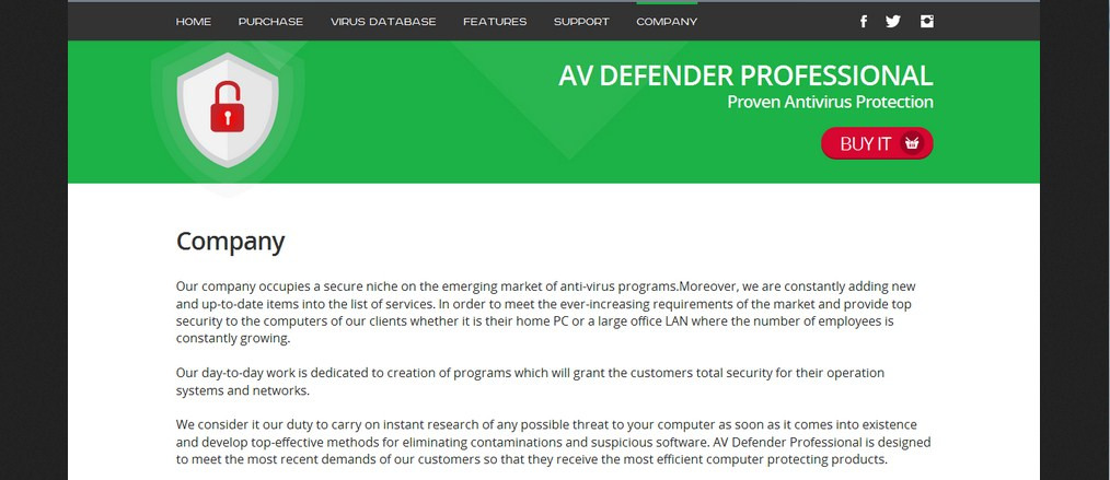 AV Defender Professional