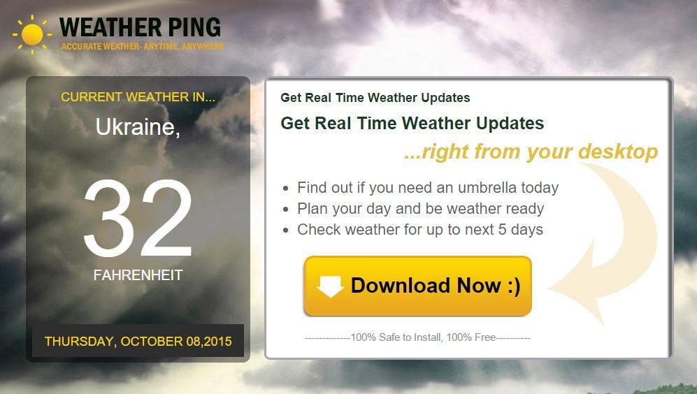 WeatherPing