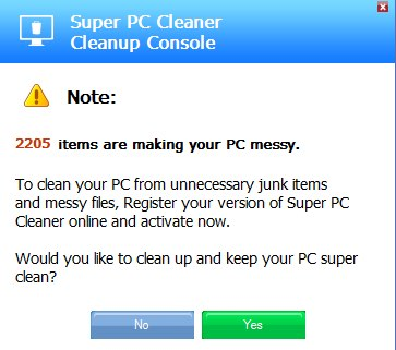 Super PC Cleaner Cleanup Console