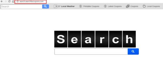 Delete Search.searchfacoupons.com